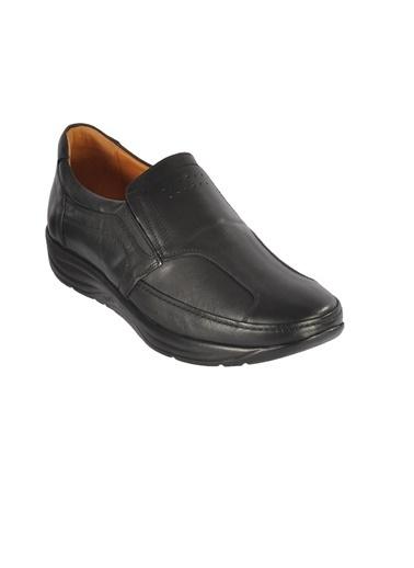 Ayakmod 505 Siyah Erkek Hakiki Deri Günlük Ayakkabı Siyah